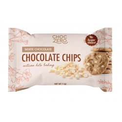 ChocZero No Sugar Added White Chocolate Baking Chips