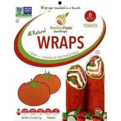 NewGem Foods Wraps Tomato