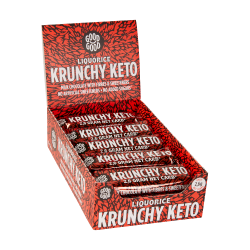 Good Good Crunchy Keto Bars Liquorice (14 bars)