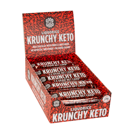 Good Good Crunchy Keto Bars Liquorice
