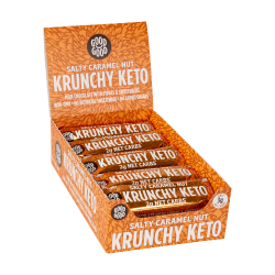 Good Good Crunchy Keto Bars Salty Caramel Nut