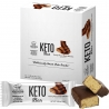 Genius Gourmet Keto Creamy Peanut Butter Chocolate Bars