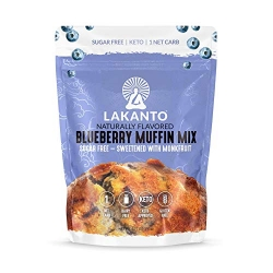 Lakanto Sugar Free Muffin Mix Blueberry