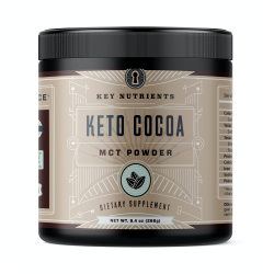Key Nutrients Keto Cocoa MCT Oil Powder
