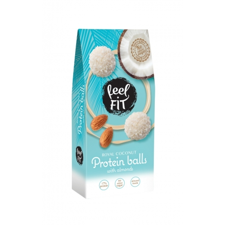 Feel FIT Protein Coconut Balls