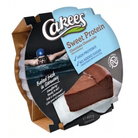 Cakees Sweet Protein Choco Cheesecake