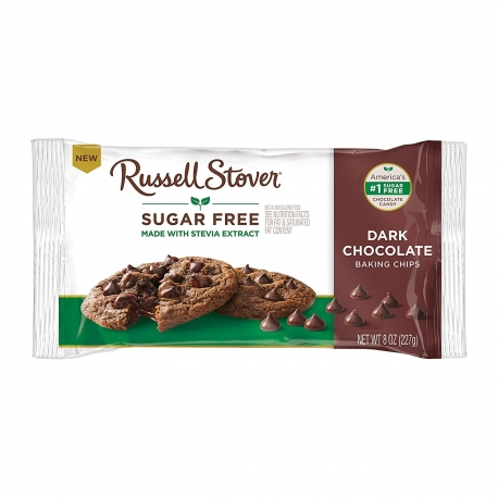 Russell Stover Sugar Free Dark Chocolate Chips