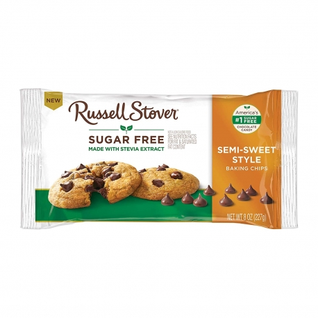 Russell Stover Sugar Free Semi Sweet Chocolate Chips