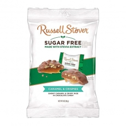Russell Stover Sugar Free Caramel & Crispies