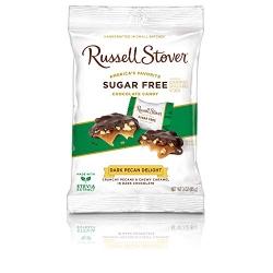 Russell Stover Sugar Free Dark Pecan Delights