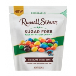 Russell Stover Sugar Free Chocolate Candy Gems