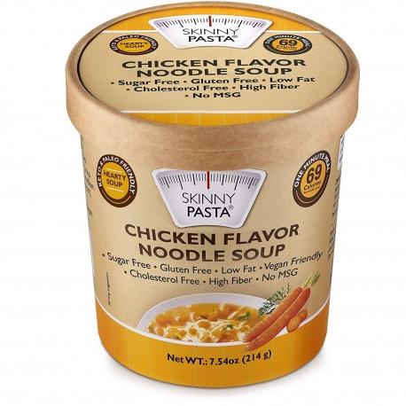 Skinny Pasta Konjac Noodle Soup