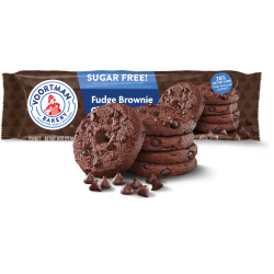 Voortman Sugar Free Cookies Fudge Brownie Chocolate Chip