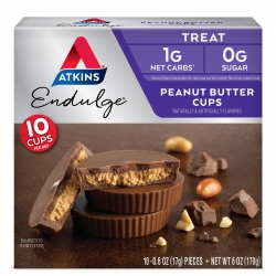 Atkins Endulge Peanut Butter Cups 170 g