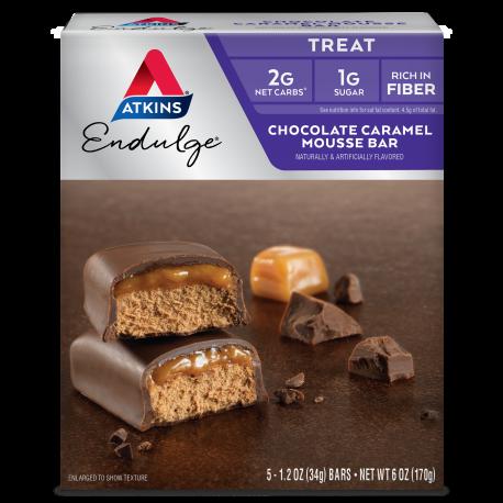 Atkins Endulge Chocolate Caramel Mousse - 5 Bars