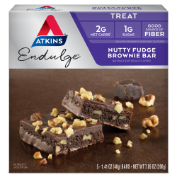 Atkins Endulge Nutty Fudge Brownie Bars