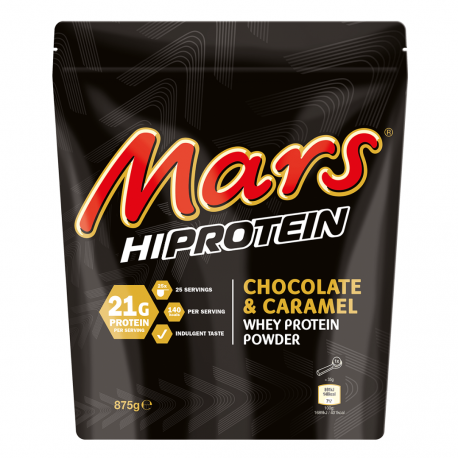 Mars Hi Protein Chocolate and Caramel Flavour Whey Protein Shake