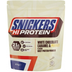 Snickers White Chocolate, Caramel & Peanut Whey Protein Shake