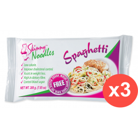 Case of 3 Skinny Noodles Spaghetti