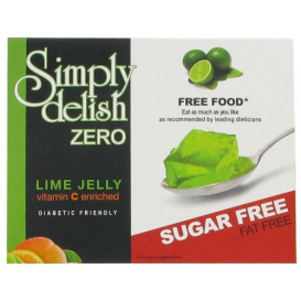 Simply Delish Sugar Free Lime Jelly