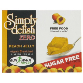 Simply Delish Sugar Free Peach Jelly