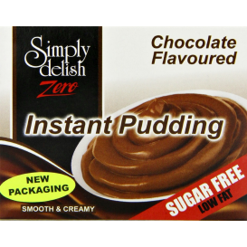 Simply Delish Sugar Free Chocolate Pudding