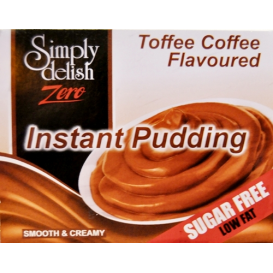 Simply Delish Sugar Free Toffee Coffee Pudding - 40 g